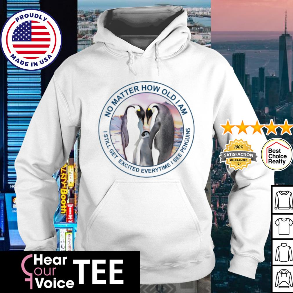Sweat dries blood clots bones heal the strongest old women go penguins s hoodie
