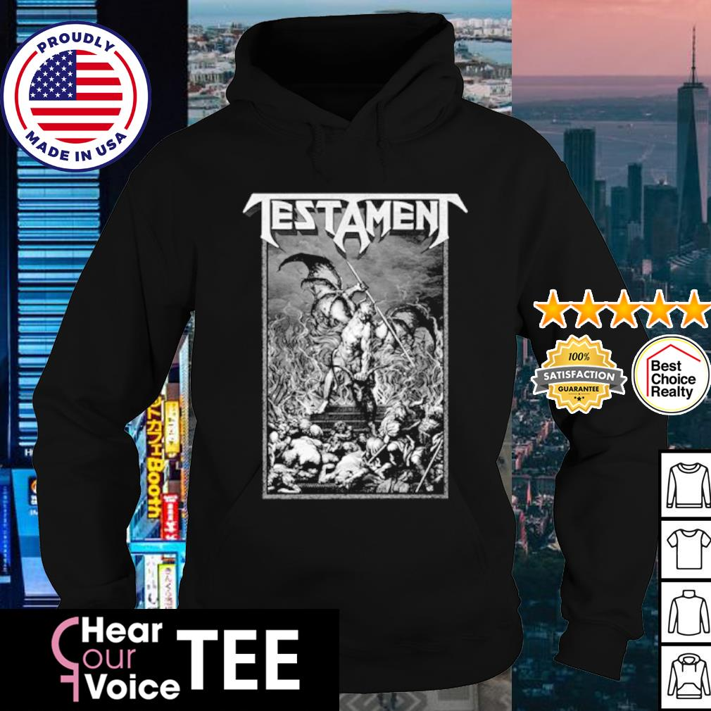 Testament Pitchfork Horns s hoodie