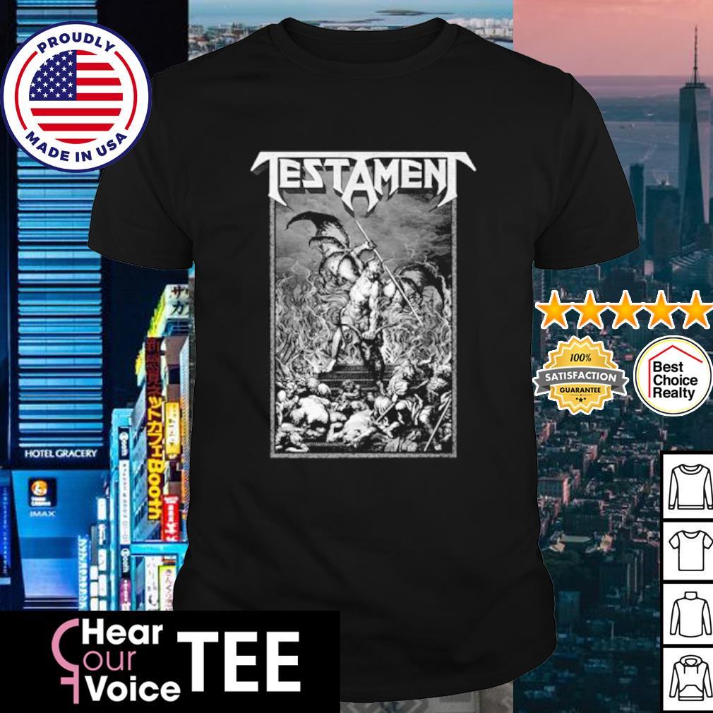 Testament Pitchfork Horns shirt