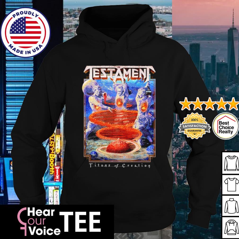 Testament Titans of Creation s hoodie