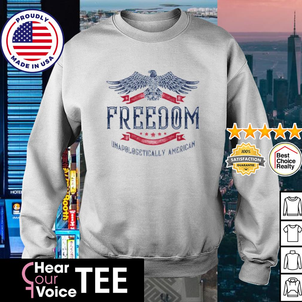 Freedom Unapologetically American s sweater