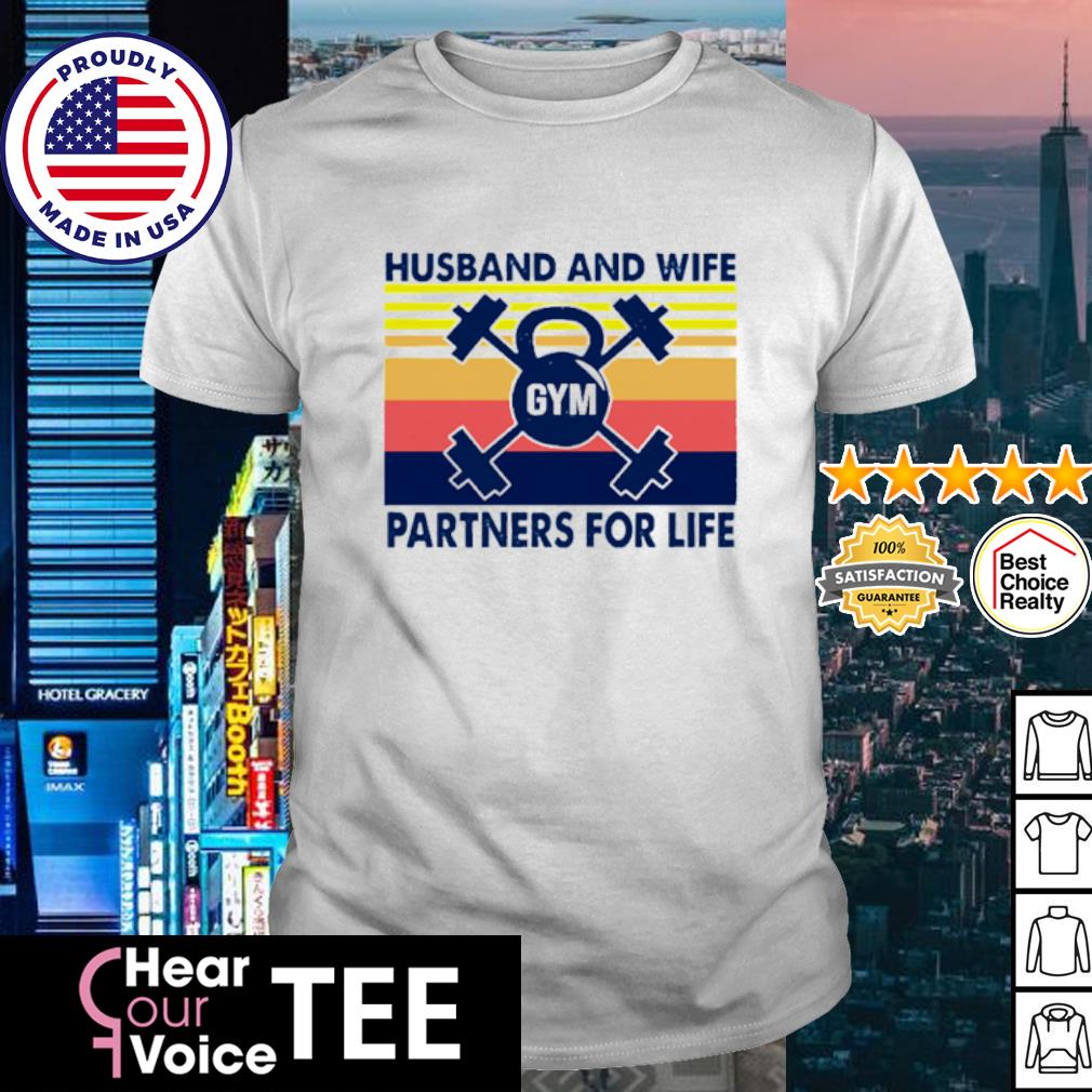 Husband And Wife Partners For Life Vintage shirt