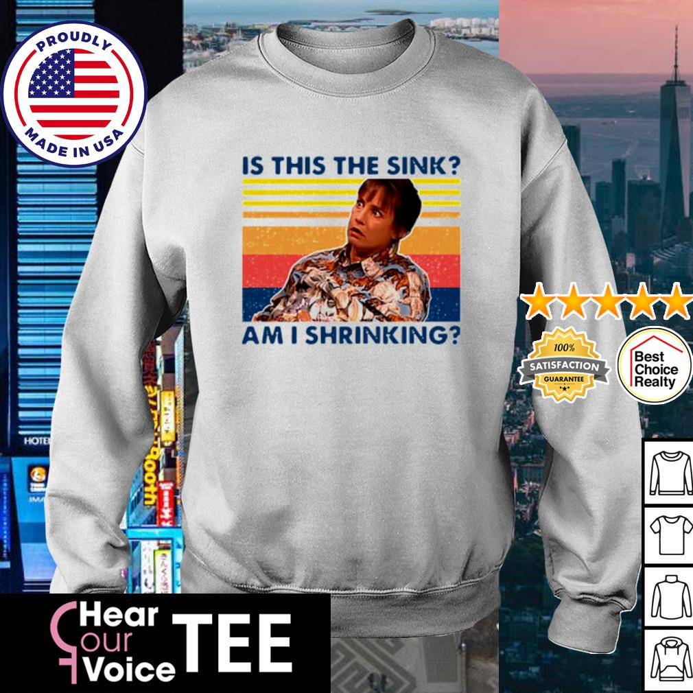 Jackie Harris Is This The Sink Am I Shrinking Vintage Shirt sweater
