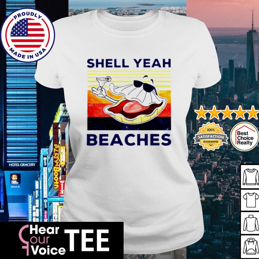 Vintage shell yeah beaches s ladies tee