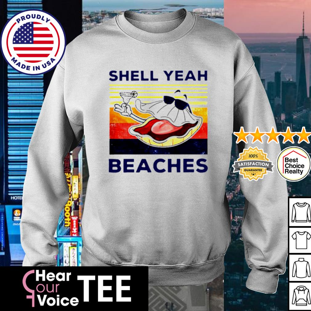 Vintage shell yeah beaches s sweater