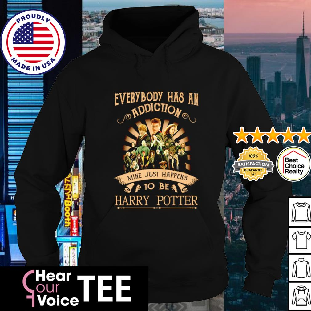 Everybody has an addiction mine just happens to be Harry Potter s hoodie