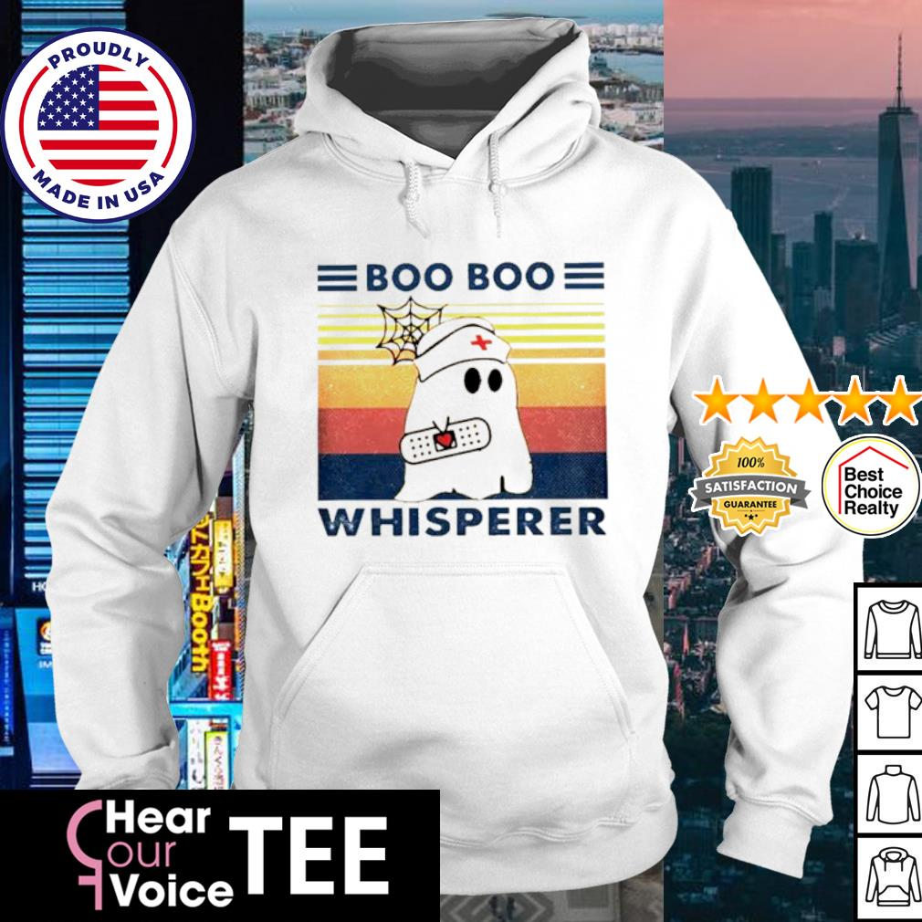 Ghost Boo Boo Whisperer Vintage s hoodie