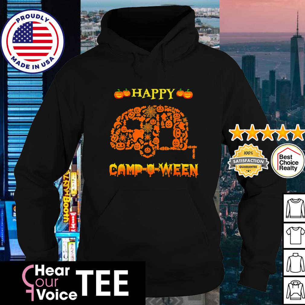 Halloween Camping Happy Camp-O-Ween s hoodie