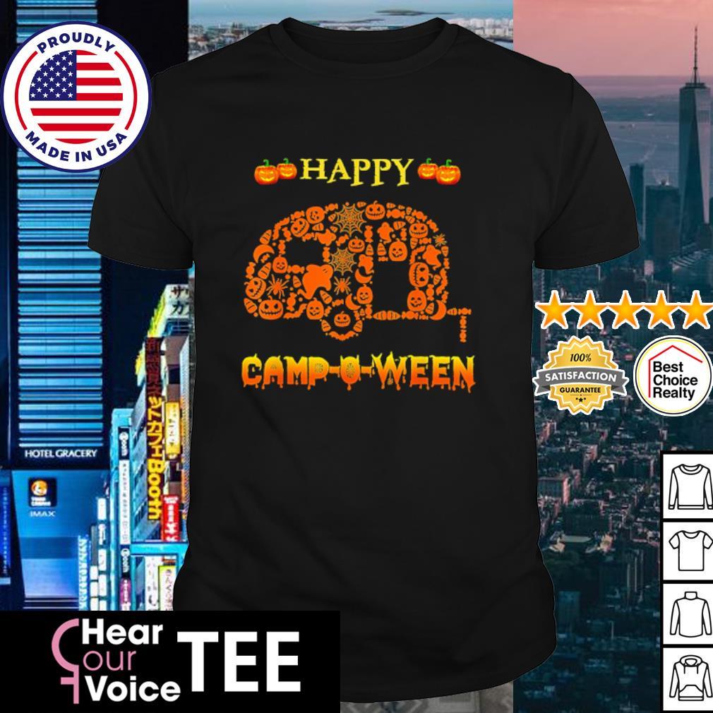 Halloween Camping Happy Camp-O-Ween shirt