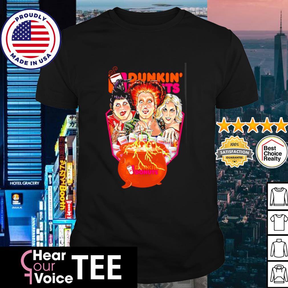 Hocus Pocus Dunkin_ Donuts shirt