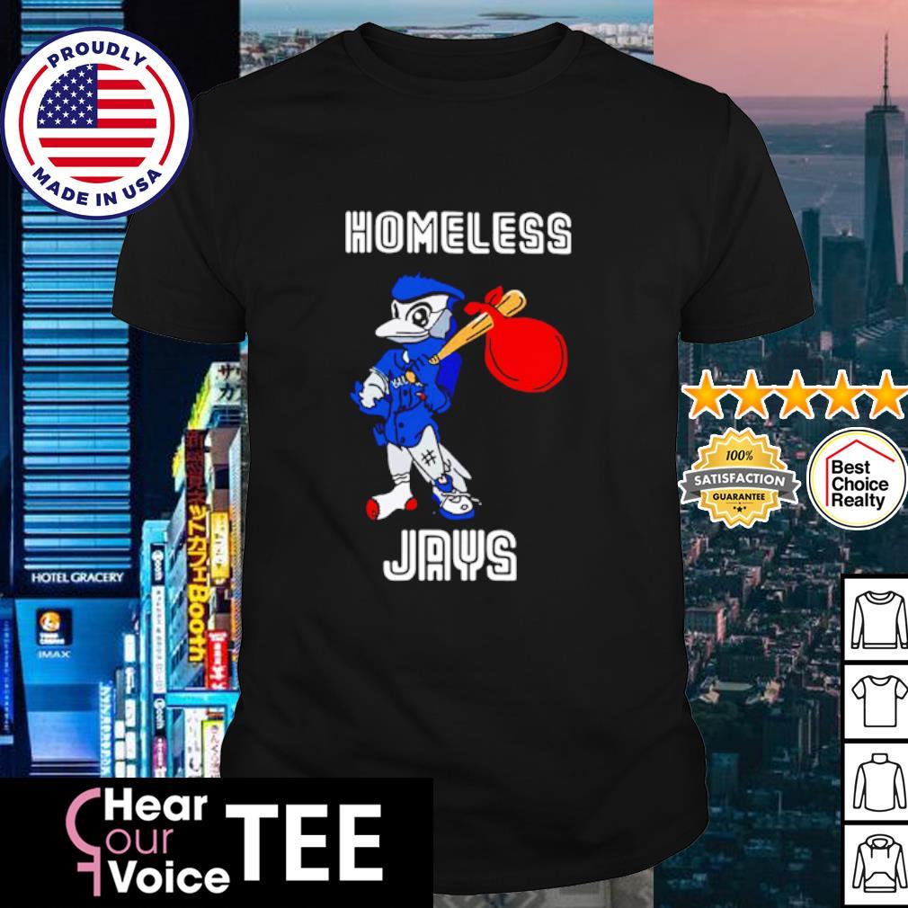 Homeless Jays shirt Toronto Blue Jays Cubs Bus Shirt