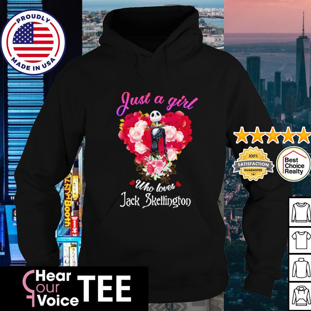 Jack Skellington Just A Girl Who Loves s hoodie