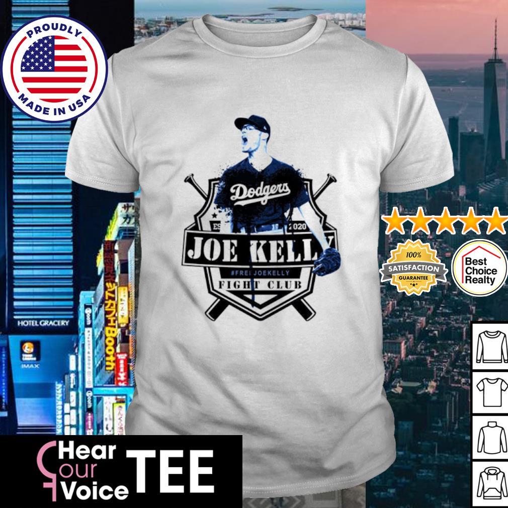 Joe Kelly Dodgers fight club shirt