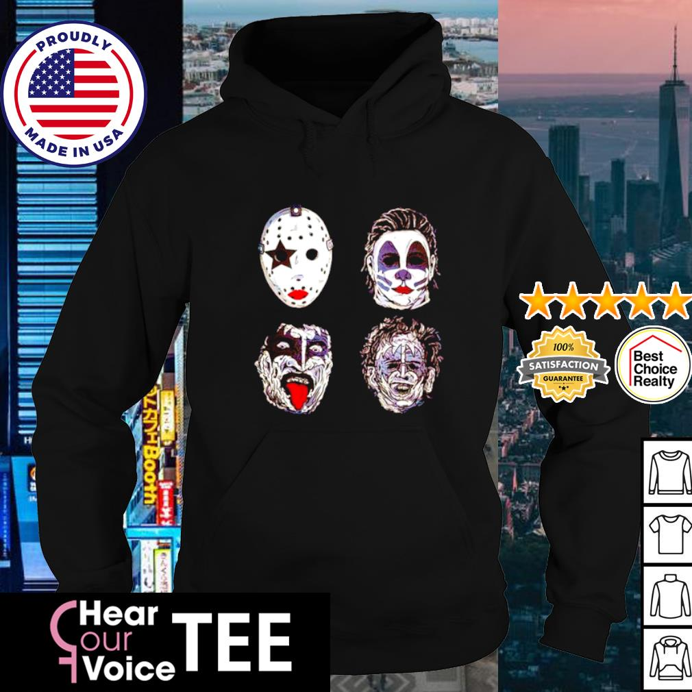 Kiss of terror Horror movies characters s hoodie