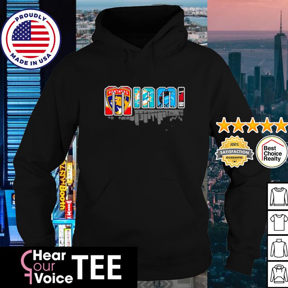 Miami city top sport teams s hoodie