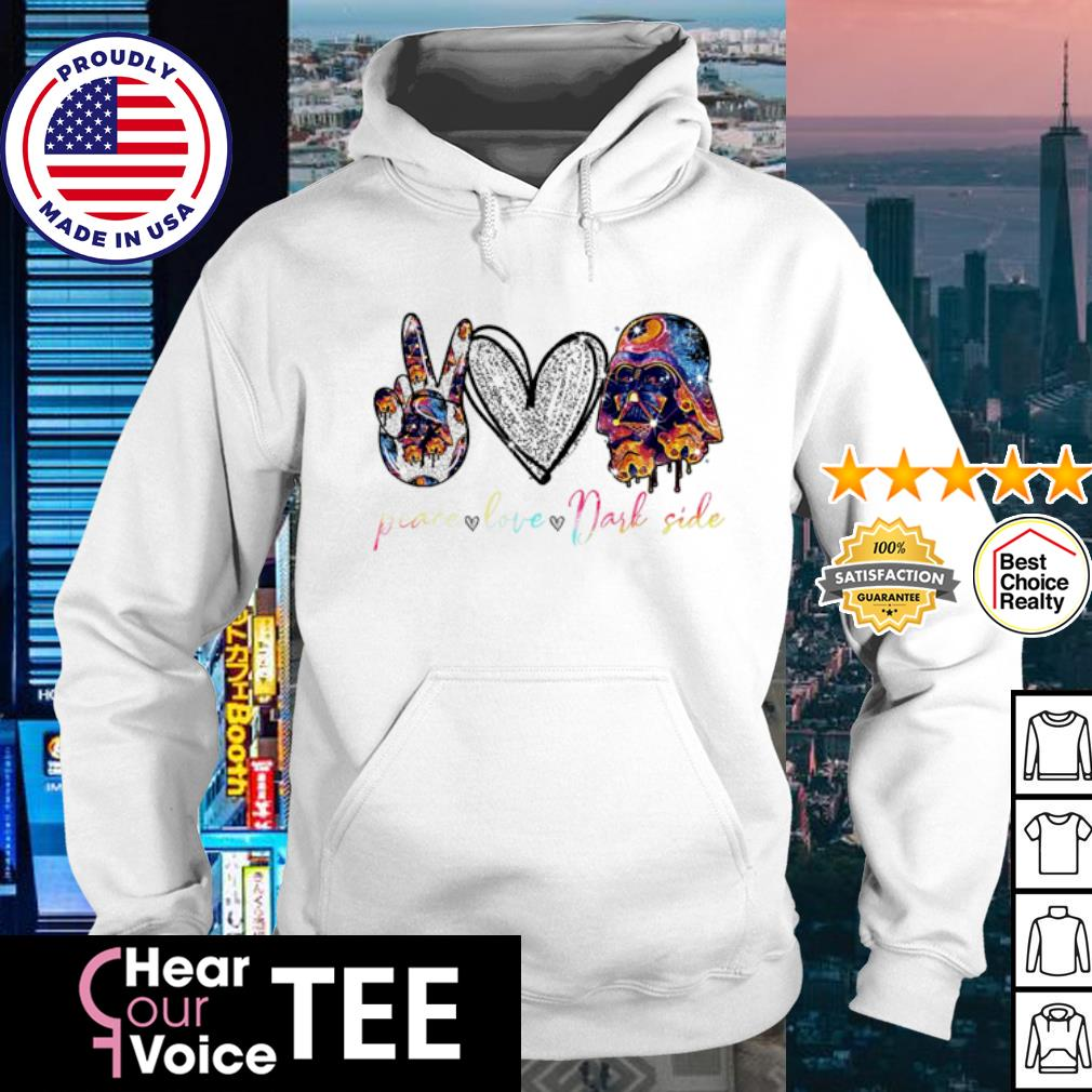 Peace Love Darl Side s hoodie