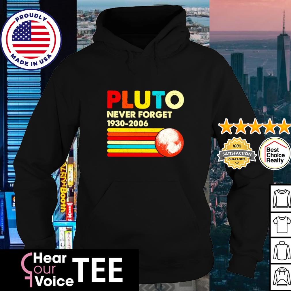 Pluto never forget 1930-2006 s hoodie