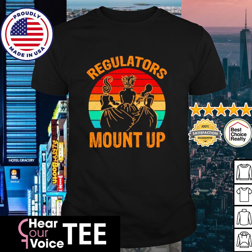 Regulators Mount Up Vintage shirt