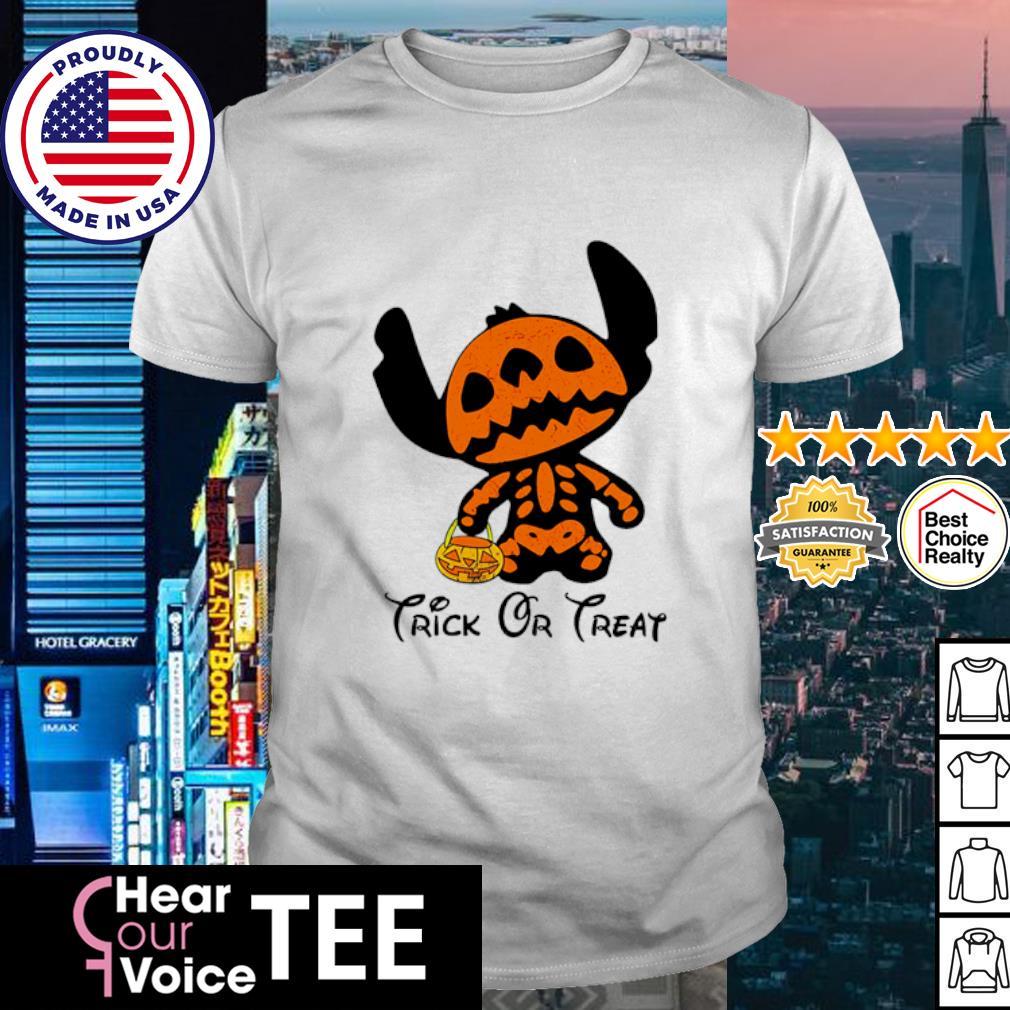 Stitch trick or treat happy Halloween shirt