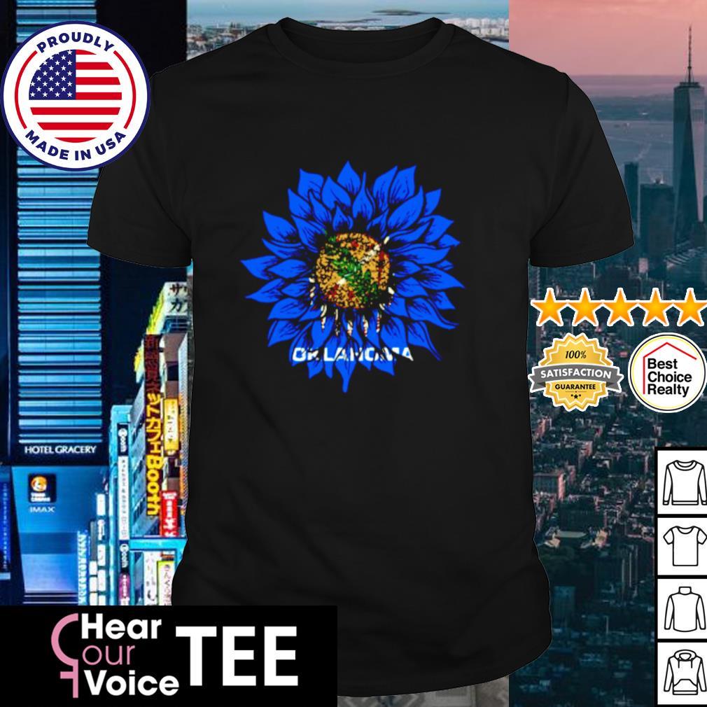 Sunflower Oklahoma flag shirt