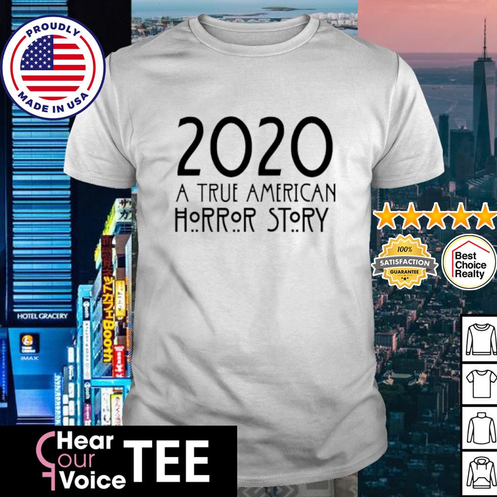 2020 A true American Horror story Halloween shirt