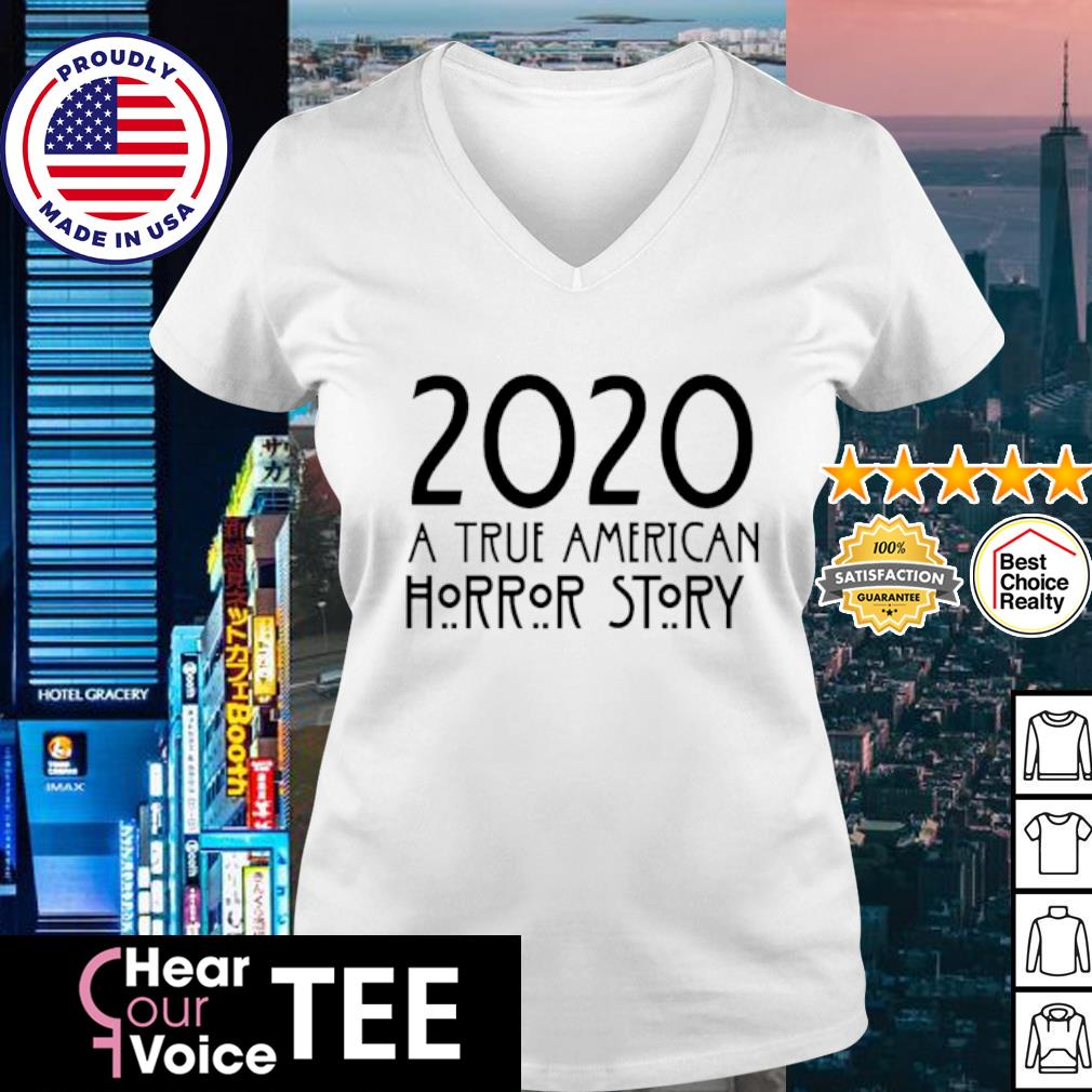 2020 A true American Horror story Halloween s v-neck t-shirt