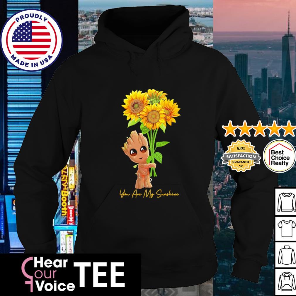Baby Groot you are my Sunshine s hoodie