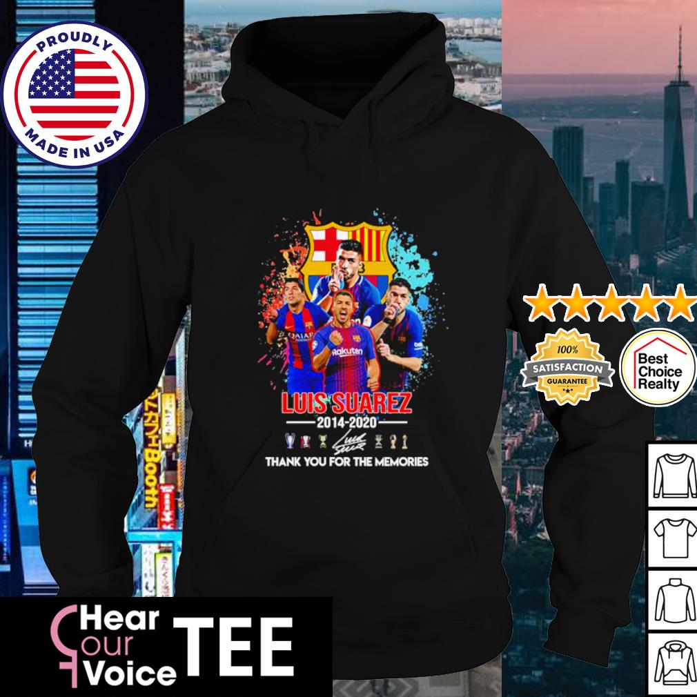 Barcelona Luis Suarez 2014 2020 thank you for the memories s hoodie
