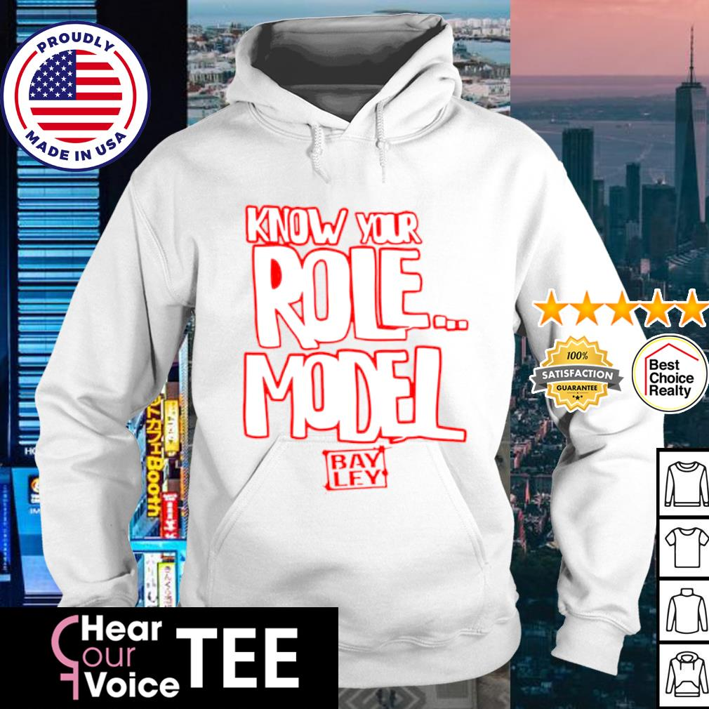 Bayley know your role mode authentic s hoodie