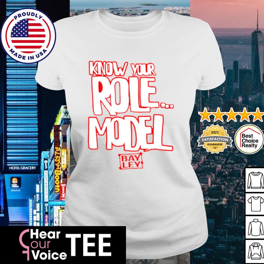 Bayley know your role mode authentic s ladies tee