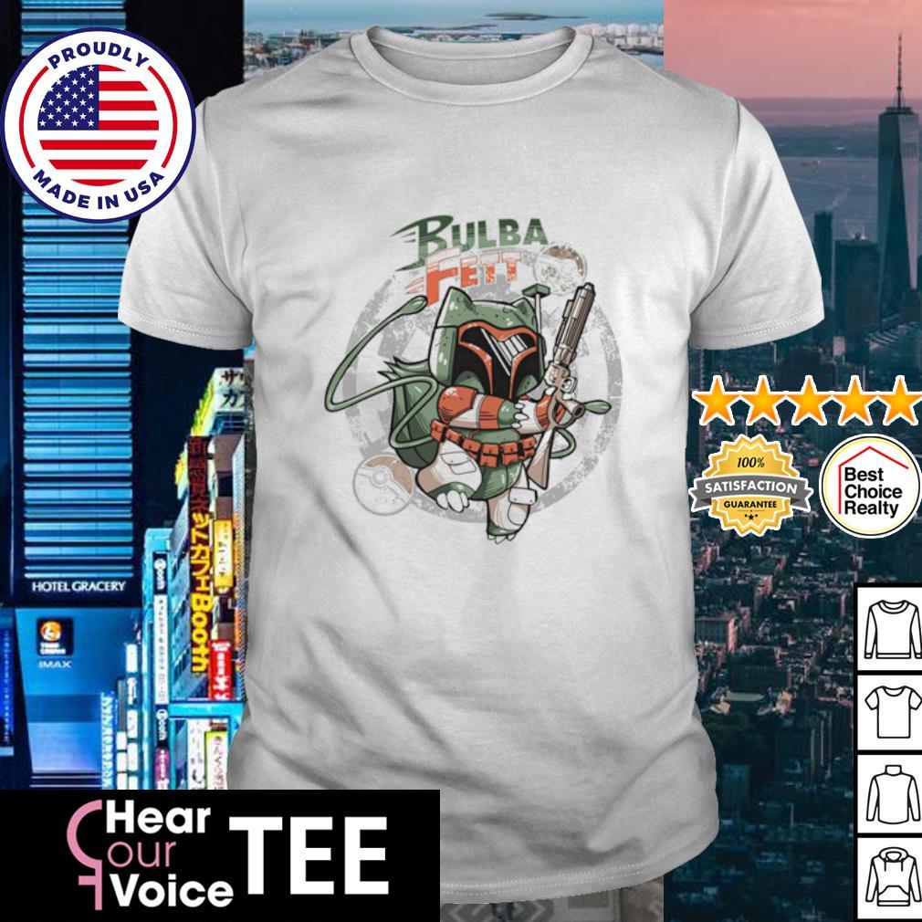 Bulba Fett Boba Fett Bulbasaur shirt