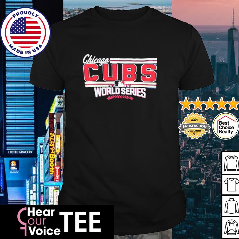 Chicago CUBS MLB 2016 world series shirt