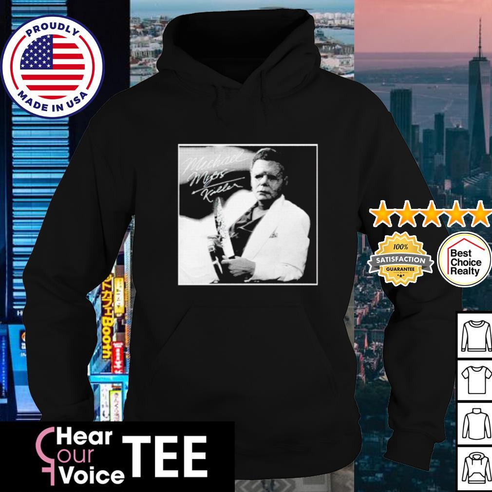 Classy Michael Myers Killer Halloween signature s hoodie