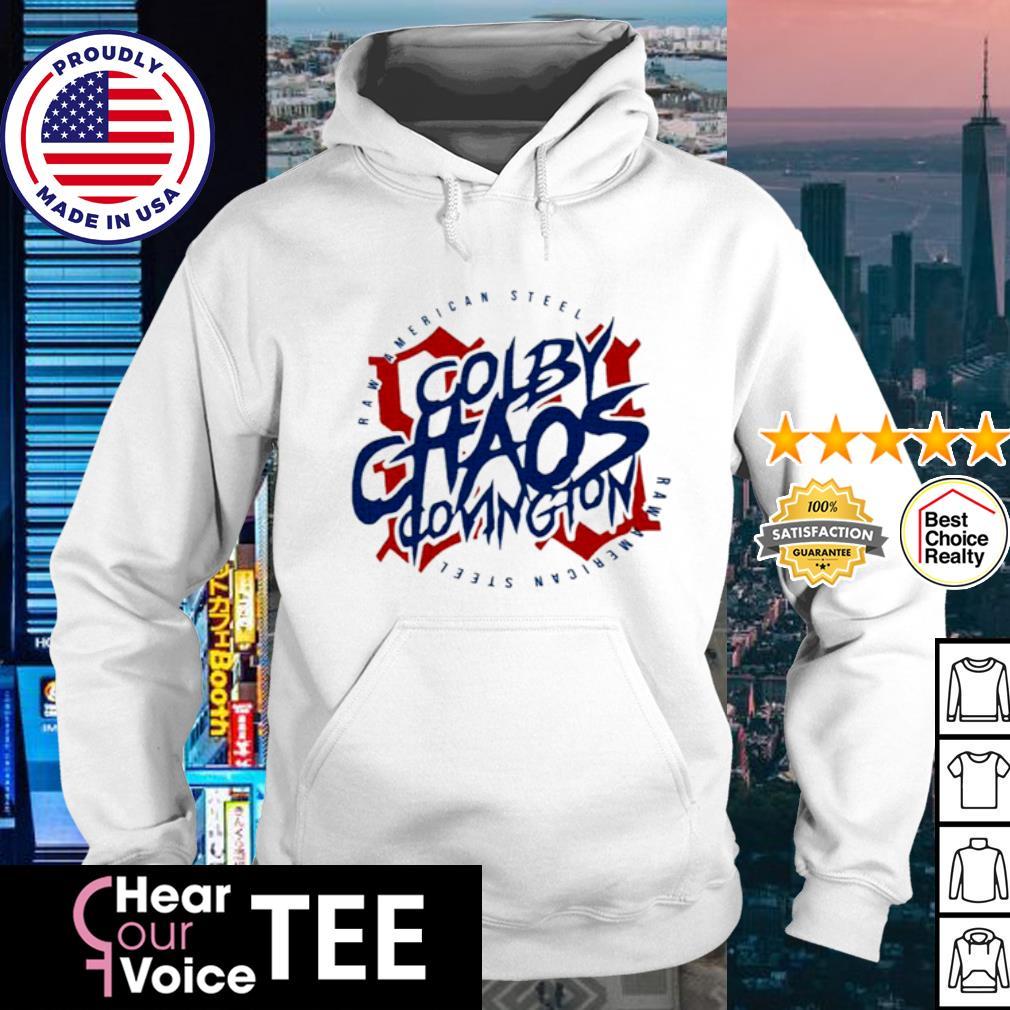 Colby Chaos covington raw American steel s hoodie