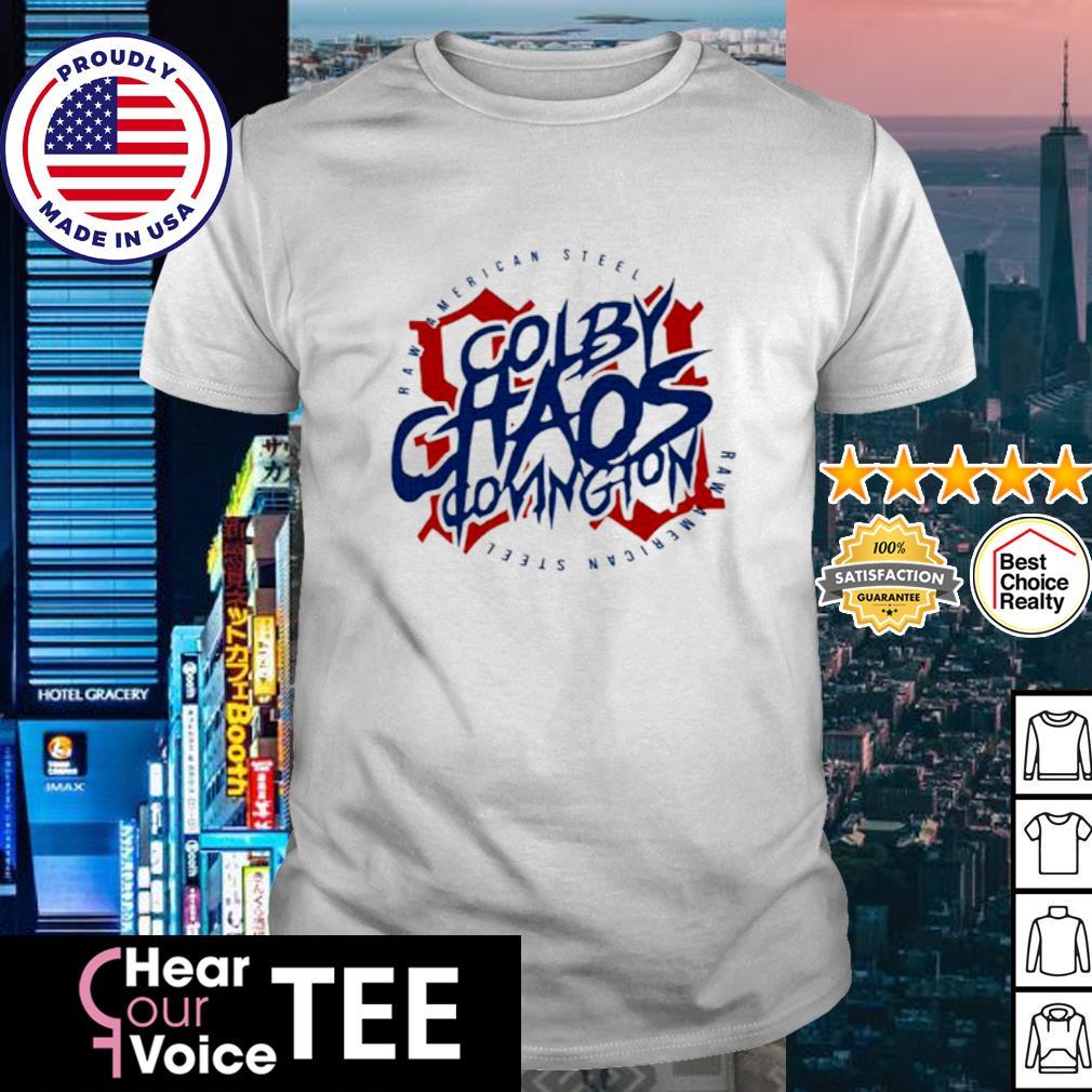 Colby Chaos covington raw American steel shirt