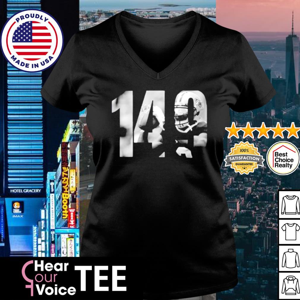 Drew Brees Mike 149 s v-neck t-shirt