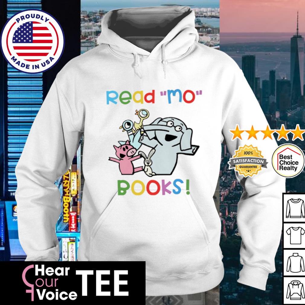 Elephant and Piggie Duckling read Mo books s hoodie
