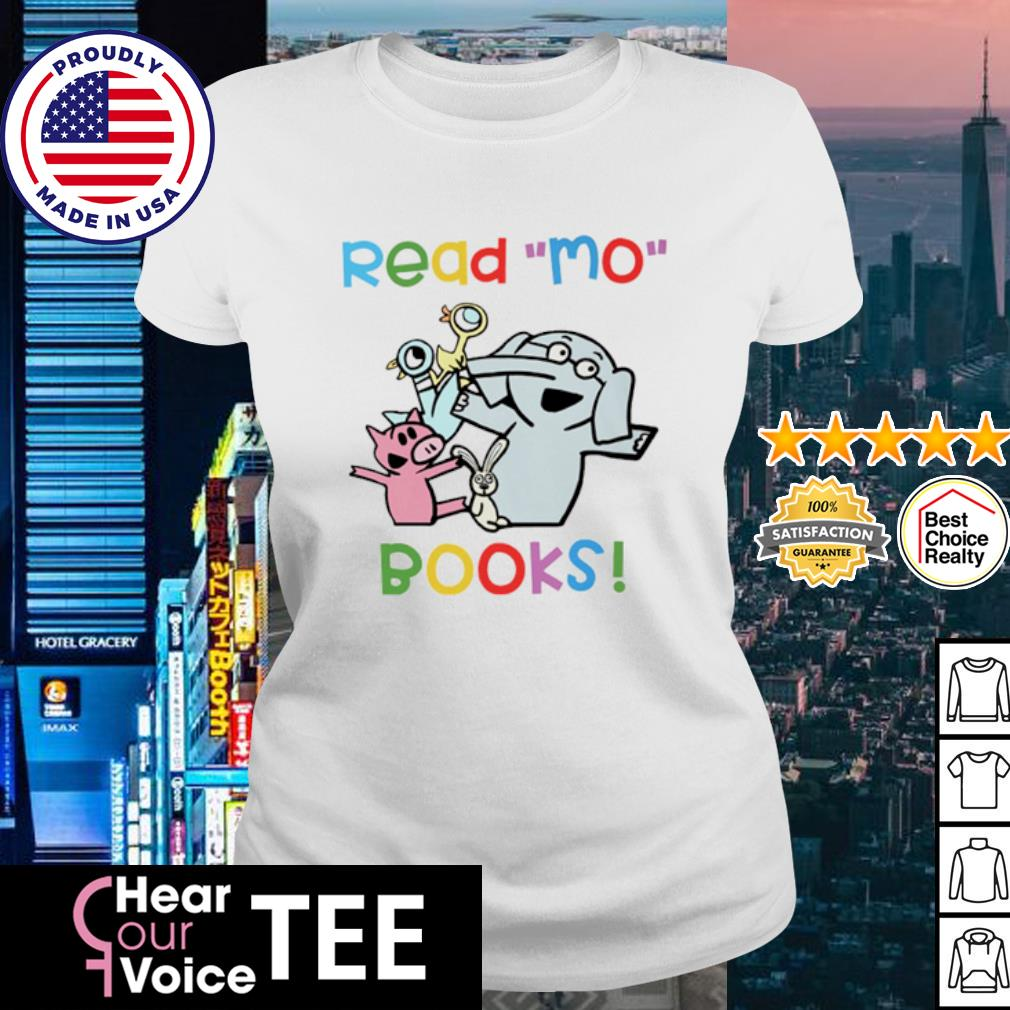 Elephant and Piggie Duckling read Mo books s ladies tee