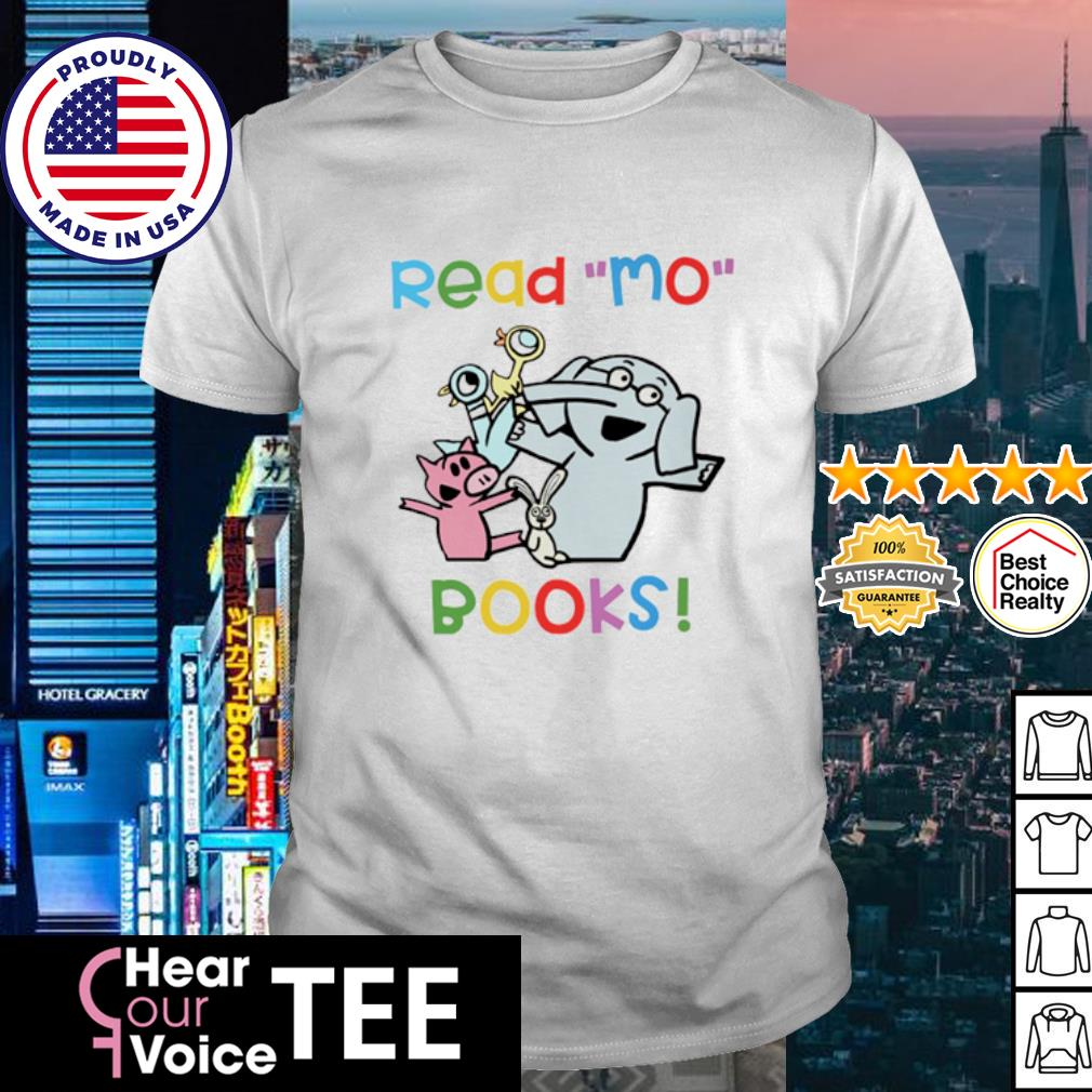 Elephant and Piggie Duckling read Mo books shirt