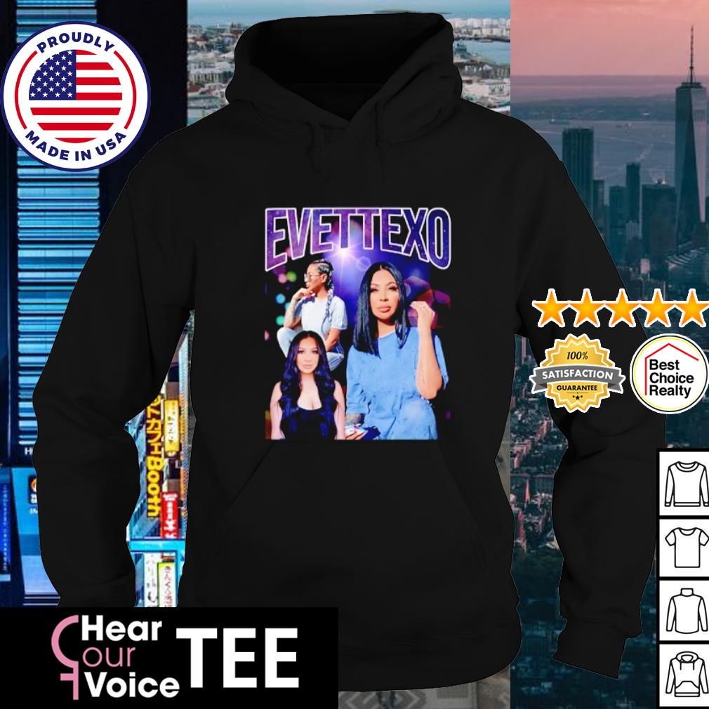 Evettexo Merch Purple s hoodie