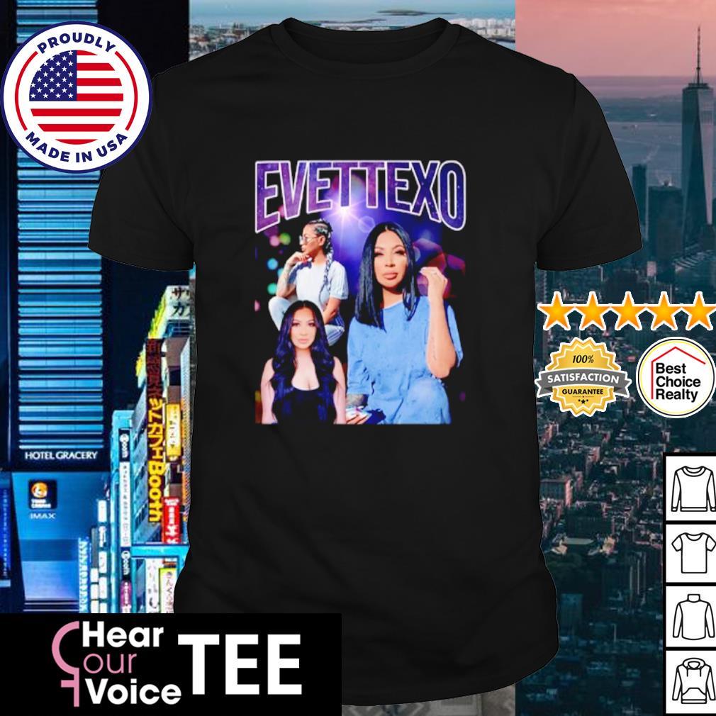 Evettexo Merch Purple shirt