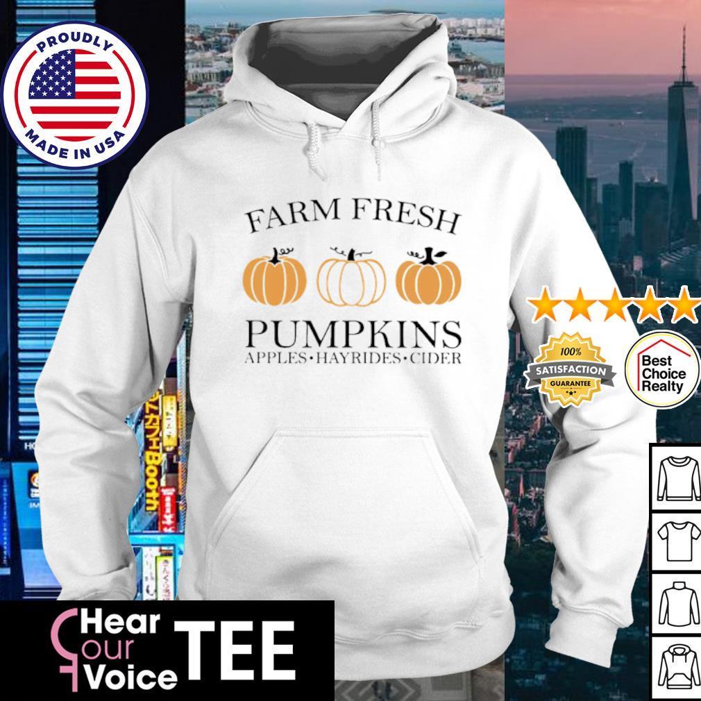 Farm fresh pumpkins Halloween s hoodie