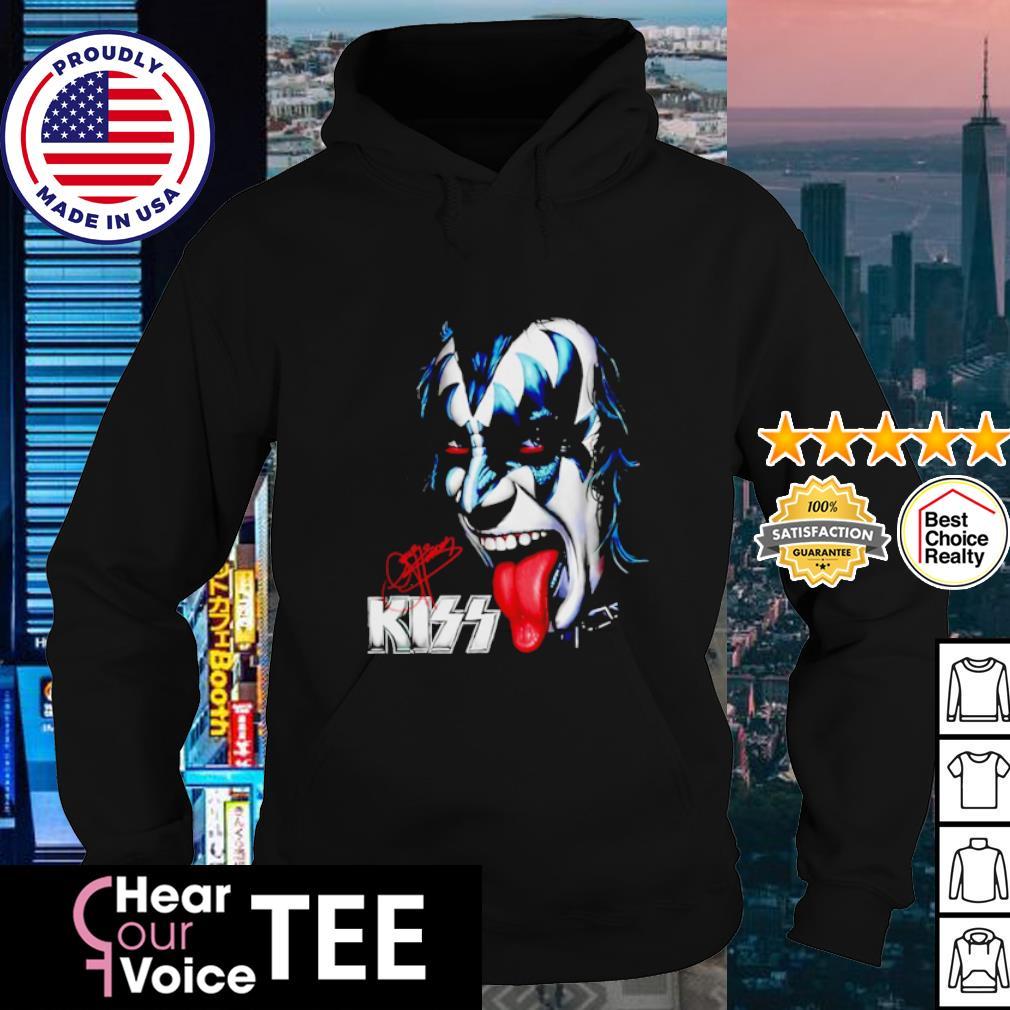 Gene Simmons Kiss signature s hoodie
