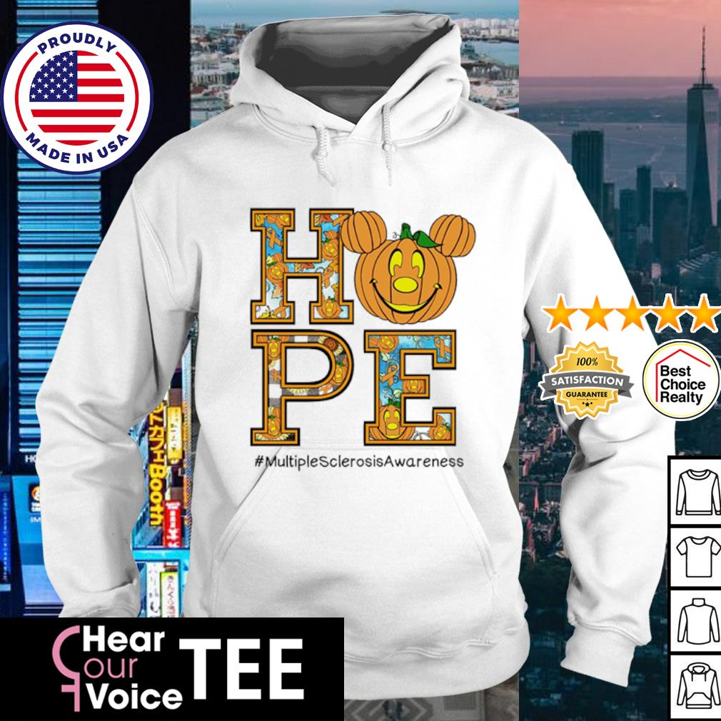 Halloween Hope #multiplesclerosisawareness s hoodie