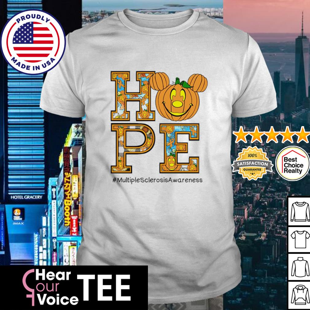 Halloween Hope #multiplesclerosisawareness shirt