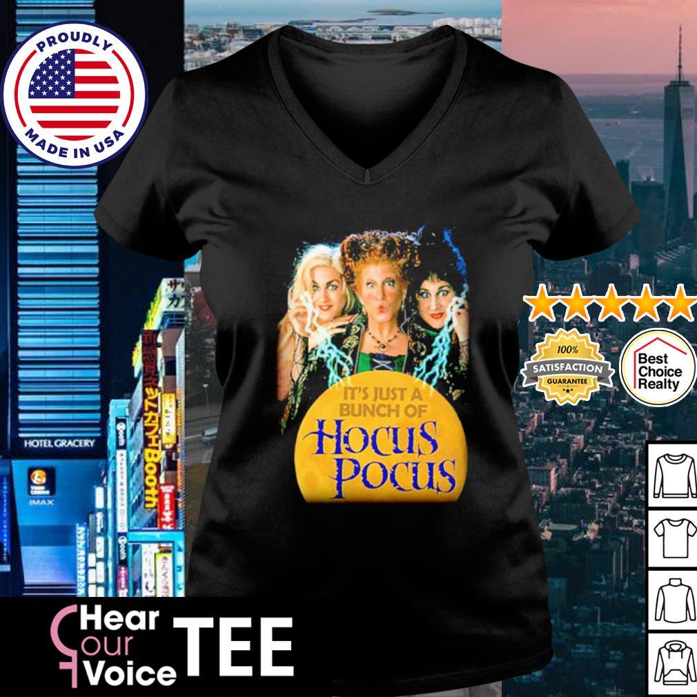 Halloween It's just a bunch of Hocus Pocus s v-neck t-shirt
