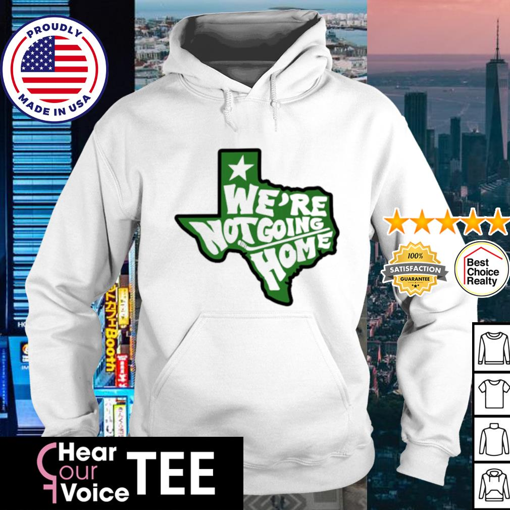 Hockey Dallas weare no going home s hoodie