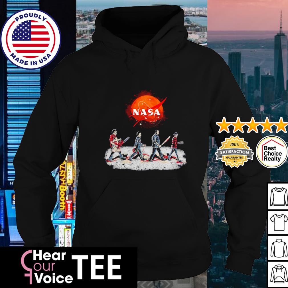 Horror Movie Characters Abbey Road Halloween s hoodie