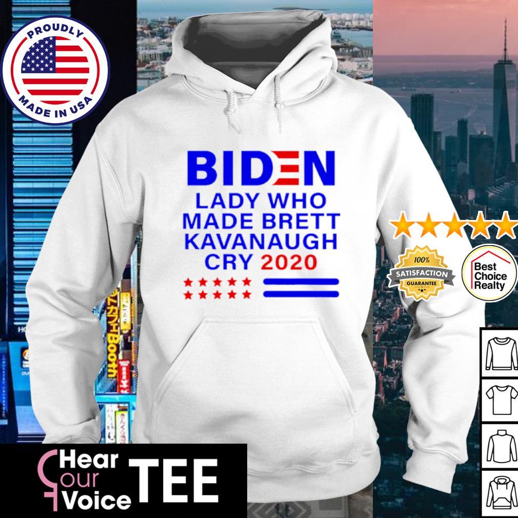 Joe Biden lady who made brett kavanaugh cry 2020 s hoodie