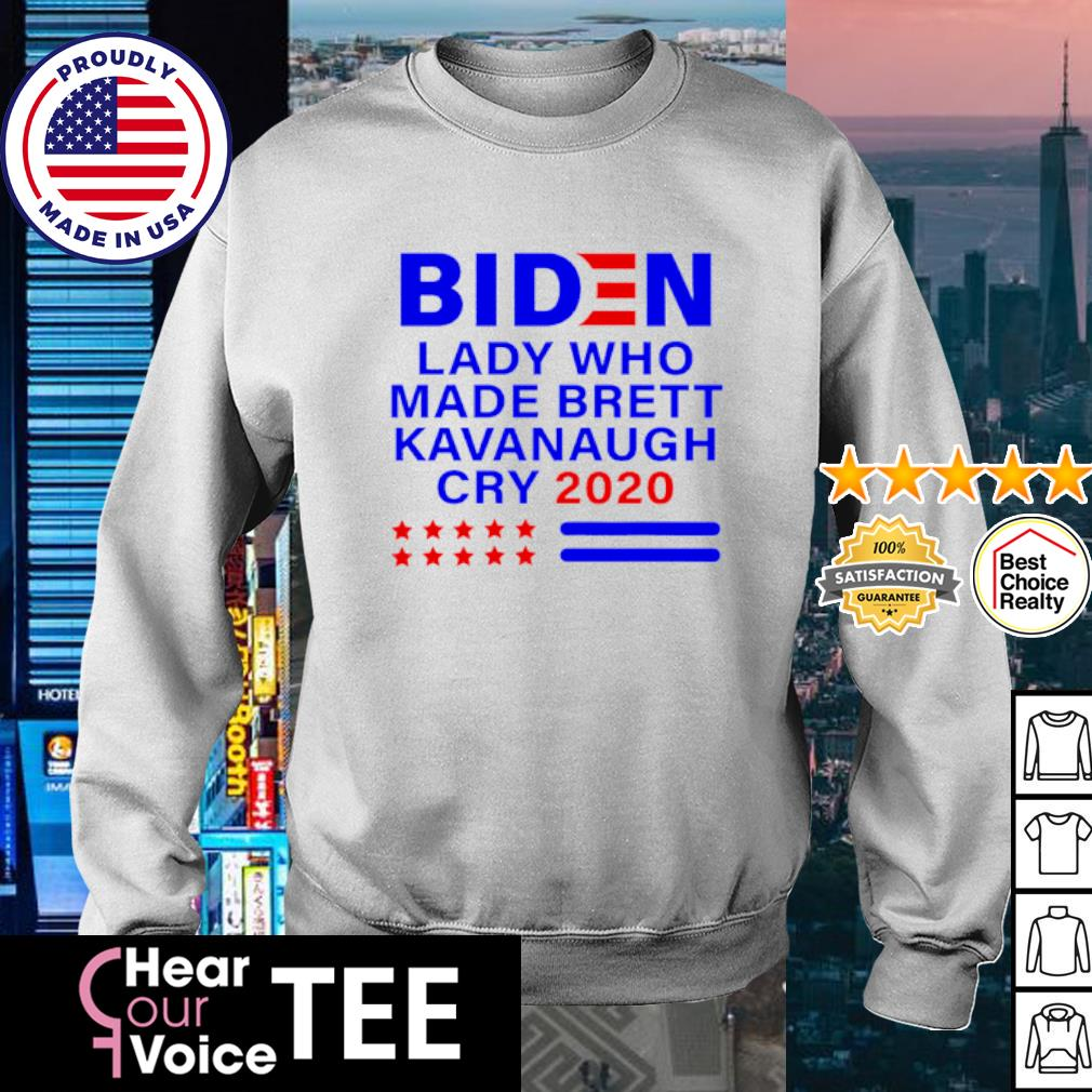 Joe Biden lady who made brett kavanaugh cry 2020 s sweater